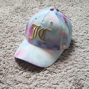 Juicy Couture Pastel Tie Dye Velvet Cap